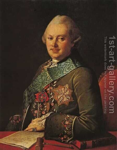 Alexandr Viazemsky by Carl-Ludwig Christinek - Reproduction Oil Painting
