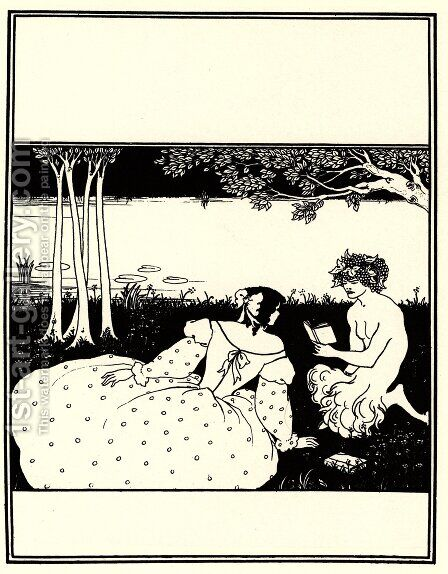 Front Cover for The Yellow Book Vol. V by Aubrey Vincent Beardsley - Reproduction Oil Painting