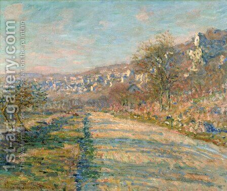 Road of La Roche-Guyon by Claude Oscar Monet - Reproduction Oil Painting