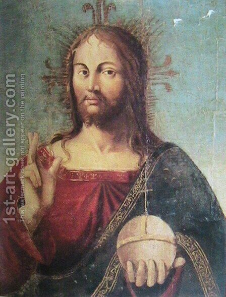 Christ by Antonello da Messina Messina - Reproduction Oil Painting