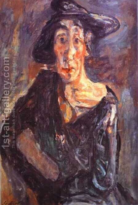 Desolation by Chaim Soutine - Reproduction Oil Painting