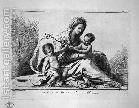 Madonna and Child with St. John the Baptist by Giovanni Battista Piranesi - Reproduction Oil Painting
