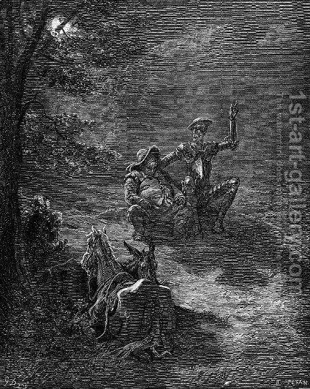 Don Quixote 35 by Gustave Dore - Reproduction Oil Painting