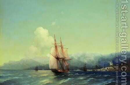 Crimea 2 by Ivan Konstantinovich Aivazovsky - Reproduction Oil Painting