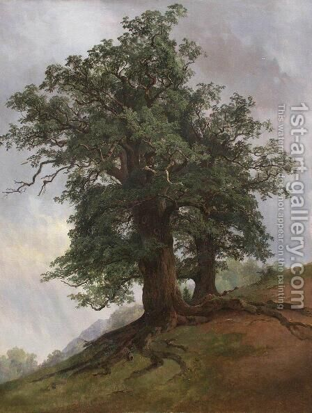 Old oak by Ivan Shishkin - Reproduction Oil Painting