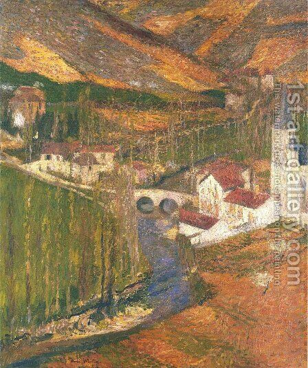 Labastide du vert 3 by Henri Martin - Reproduction Oil Painting