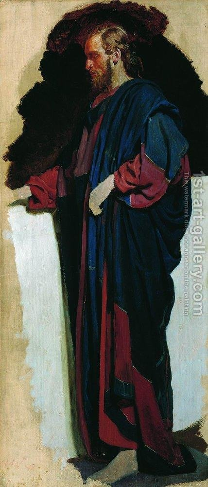 Christ by Ilya Efimovich Efimovich Repin - Reproduction Oil Painting