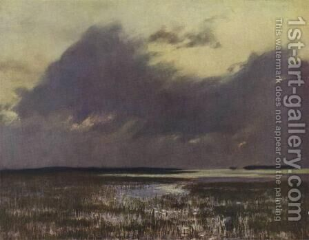 High waters by Isaak Ilyich Levitan - Reproduction Oil Painting
