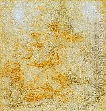 Saint Joseph by Guido Reni - Reproduction Oil Painting