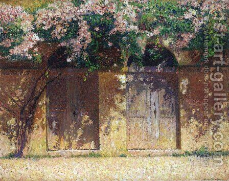 The Wisteria by Henri Martin - Reproduction Oil Painting