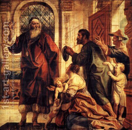 Usury is a great evil by Jacob Jordaens - Reproduction Oil Painting