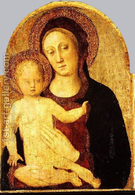 Madonna and Child 5 by Giovanni Bellini - Reproduction Oil Painting