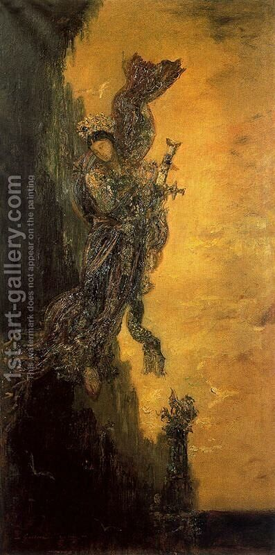 Unknown 5 by Gustave Moreau - Reproduction Oil Painting