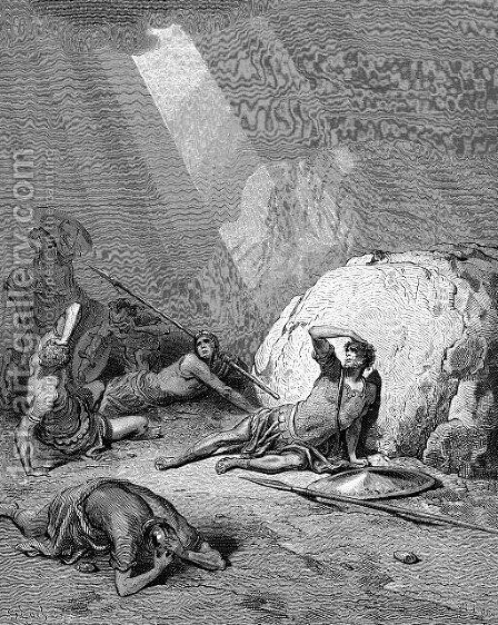 Conversion Of Saul by Gustave Dore - Reproduction Oil Painting