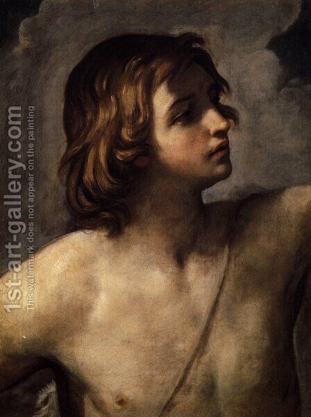 David by Guido Reni - Reproduction Oil Painting