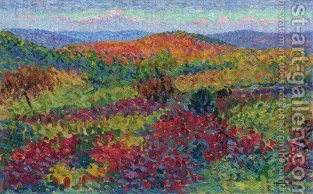 Landscape by Henri Martin - Reproduction Oil Painting