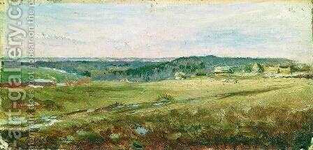 Field by Isaak Ilyich Levitan - Reproduction Oil Painting