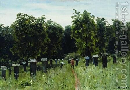 Apiary by Isaak Ilyich Levitan - Reproduction Oil Painting