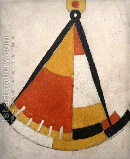 Sextant by Marsden Hartley - Reproduction Oil Painting