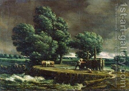 The Flood Gate by Homer Watson - Reproduction Oil Painting