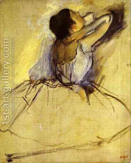 Dancer 6 by Edgar Degas - Reproduction Oil Painting