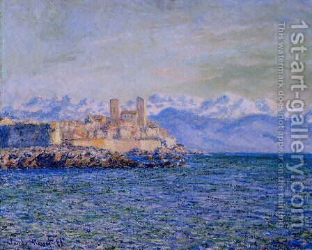 The Old Fort at Antibes by Claude Oscar Monet - Reproduction Oil Painting
