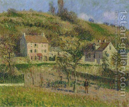 Coast at Chaponival by Gustave Loiseau - Reproduction Oil Painting