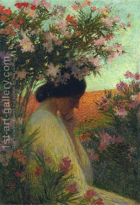 Chapelle Rose by Henri Martin - Reproduction Oil Painting