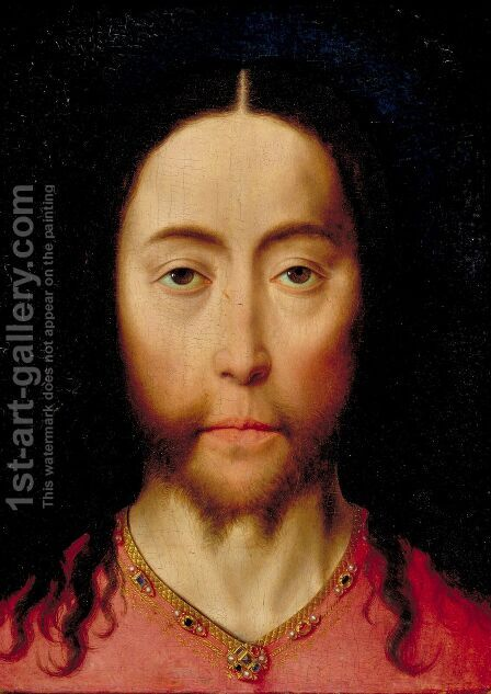 Head of Christ by Dieric the Elder Bouts - Reproduction Oil Painting