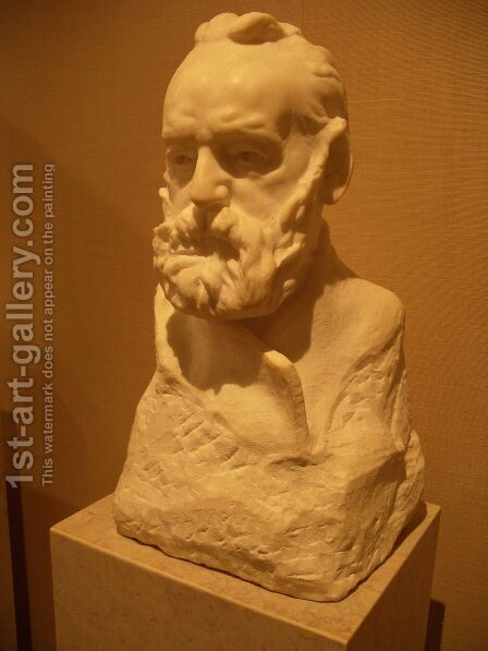 Victor Hugo by Auguste Rodin - Reproduction Oil Painting