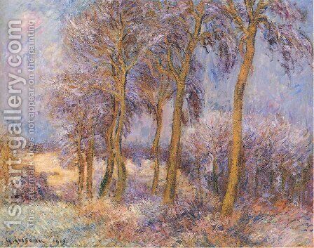 Winter by Gustave Loiseau - Reproduction Oil Painting