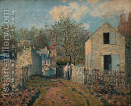 Unknown 3 by Alfred Sisley - Reproduction Oil Painting