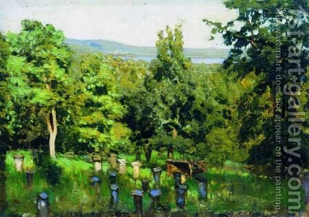 Apiary 2 by Isaak Ilyich Levitan - Reproduction Oil Painting