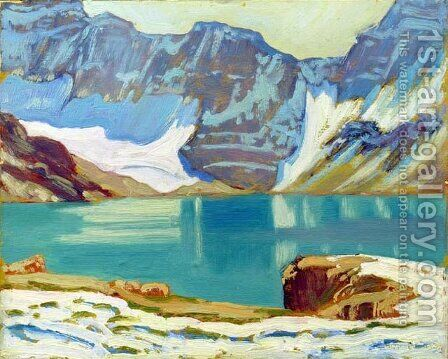 Lake McArthur, Yoho Park by James Edward Hervey MacDonald - Reproduction Oil Painting