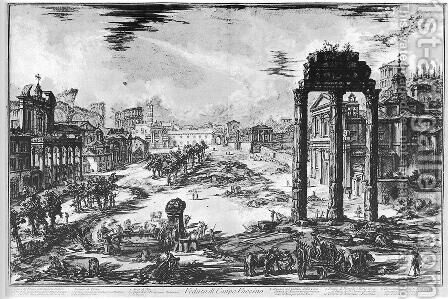 Vedute di Roma 63 by Giovanni Battista Piranesi - Reproduction Oil Painting