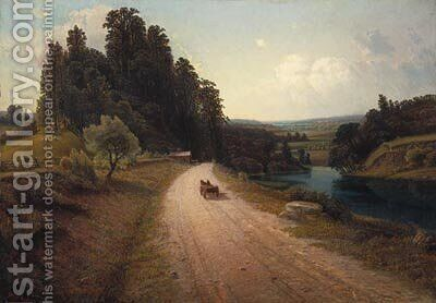 The Stone Road by Homer Watson - Reproduction Oil Painting