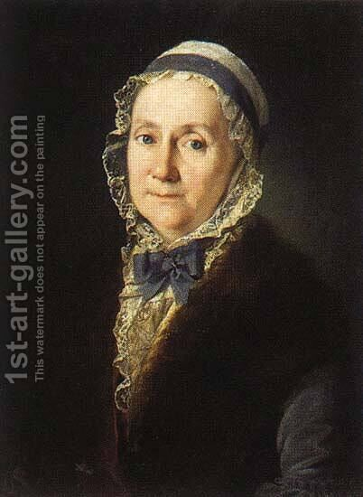 Teresa Schnee by Carl-Ludwig Christinek - Reproduction Oil Painting