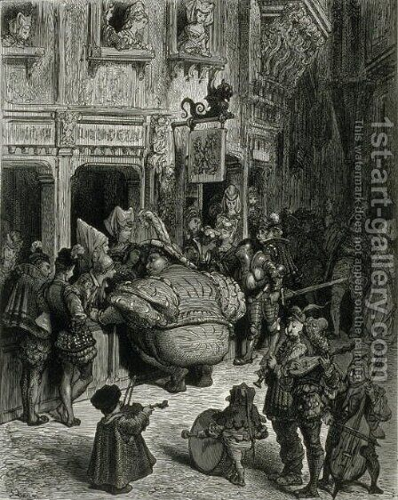 Gargantua by Gustave Dore - Reproduction Oil Painting