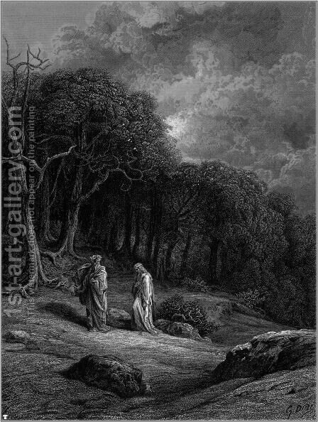 Idylls of the King 8 by Gustave Dore - Reproduction Oil Painting