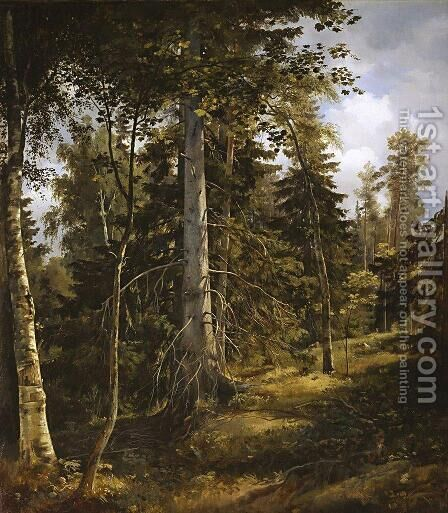 Covert 2 by Ivan Shishkin - Reproduction Oil Painting