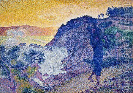 The Return of the Fisherman by Henri Edmond Cross - Reproduction Oil Painting