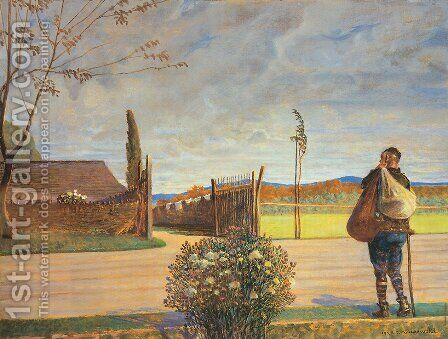 The Prodigal Son by Jacek Malczewski - Reproduction Oil Painting