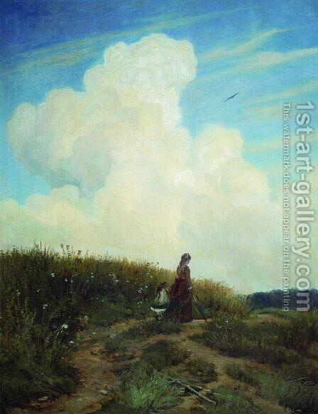 Summer by Ivan Shishkin - Reproduction Oil Painting