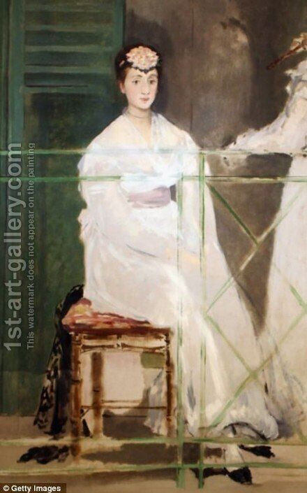 Portrait of Mademoiselle Claus by Edouard Manet - Reproduction Oil Painting