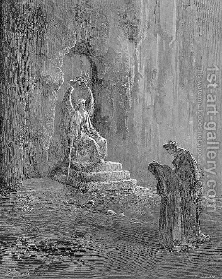 The Portals of Purgatory by Gustave Dore - Reproduction Oil Painting