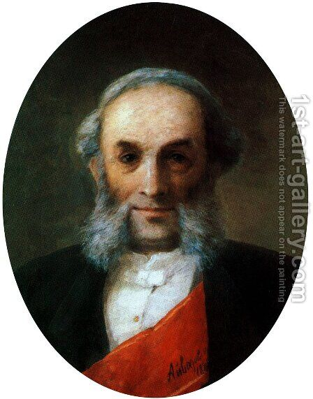 Self-portrait 3 by Ivan Konstantinovich Aivazovsky - Reproduction Oil Painting
