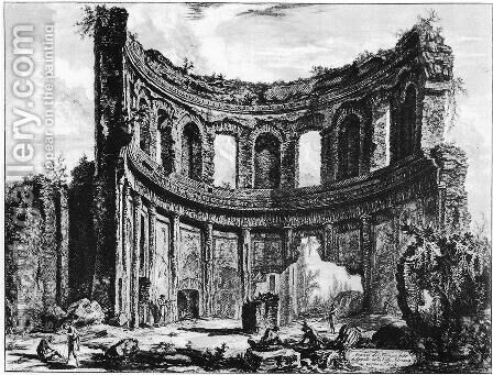 Vedute di Roma 70 by Giovanni Battista Piranesi - Reproduction Oil Painting