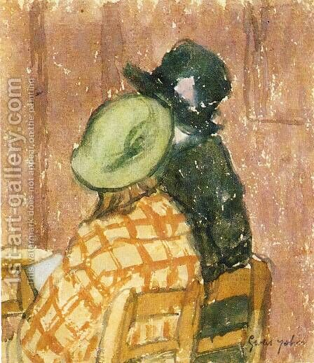 Two Women by Gwen John - Reproduction Oil Painting