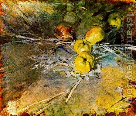 Apples by Giovanni Boldini - Reproduction Oil Painting