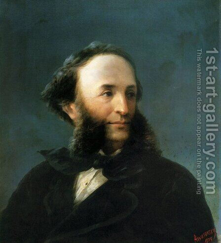 Self-portrait 5 by Ivan Konstantinovich Aivazovsky - Reproduction Oil Painting